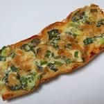 ブーランジェリー パパン - 料理写真:青ネギとクリームチーズのタルティーヌ