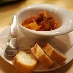 チカバル - シーフードのトマト煮