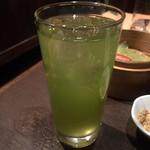 木楽家ダイニング五蔵 - 緑茶ハイ