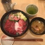 板前寿司 江戸 - 最強まぐろ丼 通常価格@1,000円