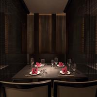 接待や会食でもご利用頂ける、洗練された≪個室≫空間