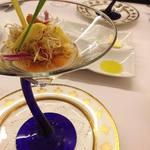 62098524 - 長野県産菊芋のムース 北海道産生うに昆布のジュレ