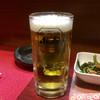居酒屋はちきん - ドリンク写真:とりあえず生から始まる関係 あると思います