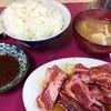 大和食堂 - 料理写真:上肉600円+ご飯、味噌汁150円