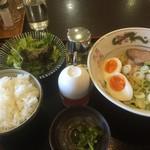 山ちゃん亭 - 料理写真:油そばセット