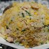中国名菜処 悟空 - 料理写真:鶏大葉チャーハン定食 普通盛り