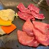 焼肉のじま - 料理写真:のじま定食   ハラミ・タン   1200円