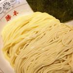 神田 勝本 - 細と中平の2種盛り麺