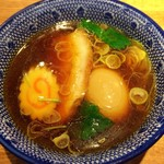 神田 勝本 - 魚干節出汁の淡麗コク旨つけ汁