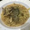魚魚丸 - 料理写真:牡蠣ときのこのポルチーニパスタ