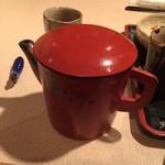 蕎麦茶屋 和久 - 蕎麦湯です。