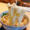 かめ壽 - 料理写真:▲スケルトンきしめん(ランチ620円税込)ライス無料!!!