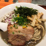 麺屋 六感堂 - 濃厚烏賊煮干しSOBA