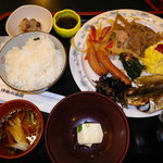 伊東小涌園 - 和食堂浮舟の朝食バイキング