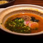 元祖博多めんたい重 - つけめんのスープ