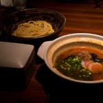 元祖博多めんたい重 - 飯麺セット全体