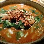 62140945 - 孫チーフの担々麺(大辛)1000円
