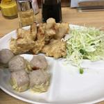 一芳亭 - 豚天定食