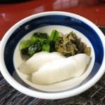 竹葉亭 - 香の物