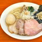 麺処 有彩 - '17.01あっさり塩(特製)