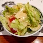 ステーキランド神戸館 - サラダ