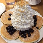 エッグスンシングス - ブルーベリーパンケーキ