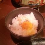 炭火焼肉 仁 - 「TKG (500円)」
