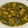 南國堂 - 料理写真:ひよこ豆のサグカレー