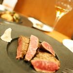 裏参道牛肉店 - 料理写真:ままま一杯♪