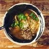 麺場 ハマトラ - 料理写真:2017年1月 黒豆納豆そば 800円