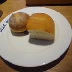ポロポロ - フォカッチャ&全粒粉パン