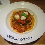 ポロポロ - パスタランチ:トマトとモッツァレラのカプレーゼ