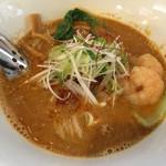 麺つし馬 - 海老担々麺 700円