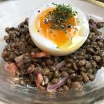 62196404 - ルピュイ産レンズ豆のサラダ