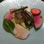 天ぷら岡本 - 前菜