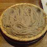 ぼっち - 独特の「ぼっち盛り」蕎麦