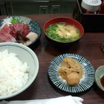62206356 - 刺身定食(1500円)