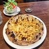 自家焙煎珈琲 あぶさんと - 料理写真:リンゴのピッツァ