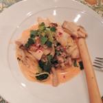 アトリエ パティオ - トマトクリームソースのパスタ