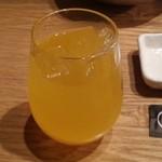焼肉居酒屋 マルウシミート - これマンゴー酒。ほぼジュースやね(笑)