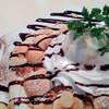 マシュマロとチョコソースのドルチェピッツァ