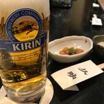 久助 - 生ビール中ジョッキ650円