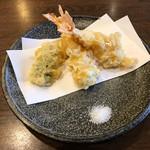 蕎麦がき屋 - 天ぷら