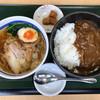 地産地食堂 てらや - 料理写真:牛すじカレーセット880円