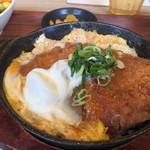 米どころん - 豚カツ玉子とじ定食 790円