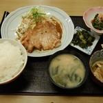 さかい軒 - 生姜焼き定食