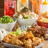 激うまチキンの宴会コースは3000円~!各種宴会・飲み会に!