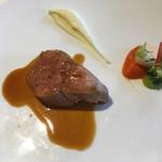 ア・ヴォートル・サンテ - 仔牛のフィレ肉