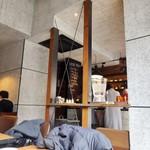 MONZ CAFE - 窓側の特等席(^^♪