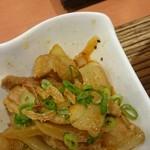 ニャー・ヴェトナム - 豚ばら肉と玉ねぎのスパイシーな炒め物